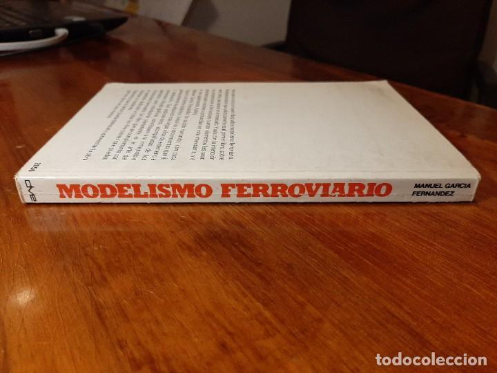 Libros de segunda mano: MODELISMO FERROVIARIO. EDITORIAL DE VECCHI. MANUEL GARCIA FERNANDEZ 1980 - Foto 3 - 224627916