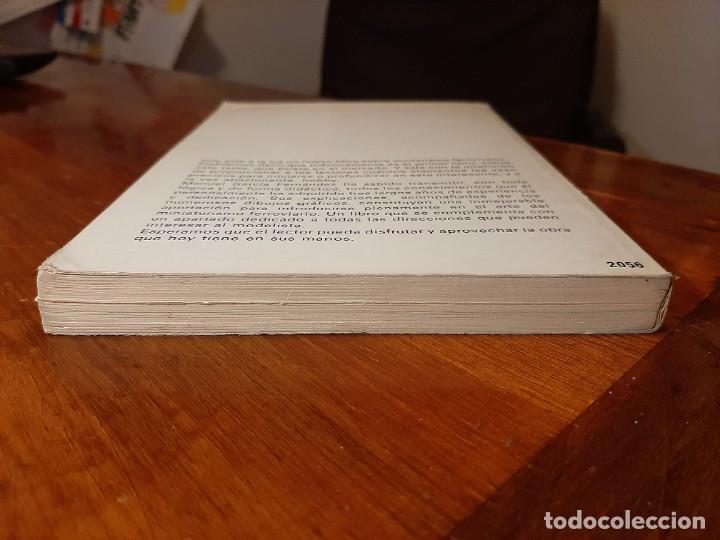 Libros de segunda mano: MODELISMO FERROVIARIO. EDITORIAL DE VECCHI. MANUEL GARCIA FERNANDEZ 1980 - Foto 6 - 224627916