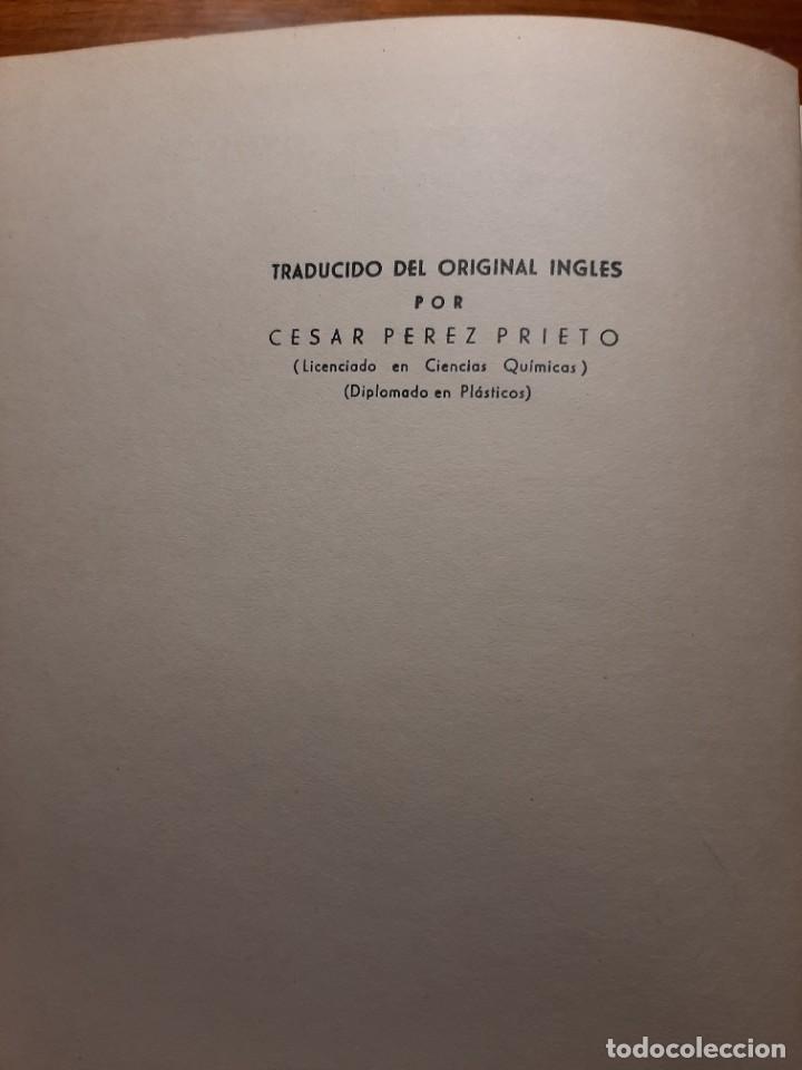 Libros de segunda mano: MOLDEO DE PLASTICOS POR COMPRESION Y TRANSFERENCIA. J.BUTLER. ARTES GRAFICAS LASTALVA - Foto 6 - 224632631