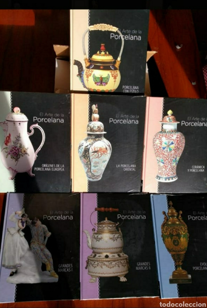 Libros de segunda mano: Coleccion arte de la porcelana - Foto 2 - 224634030