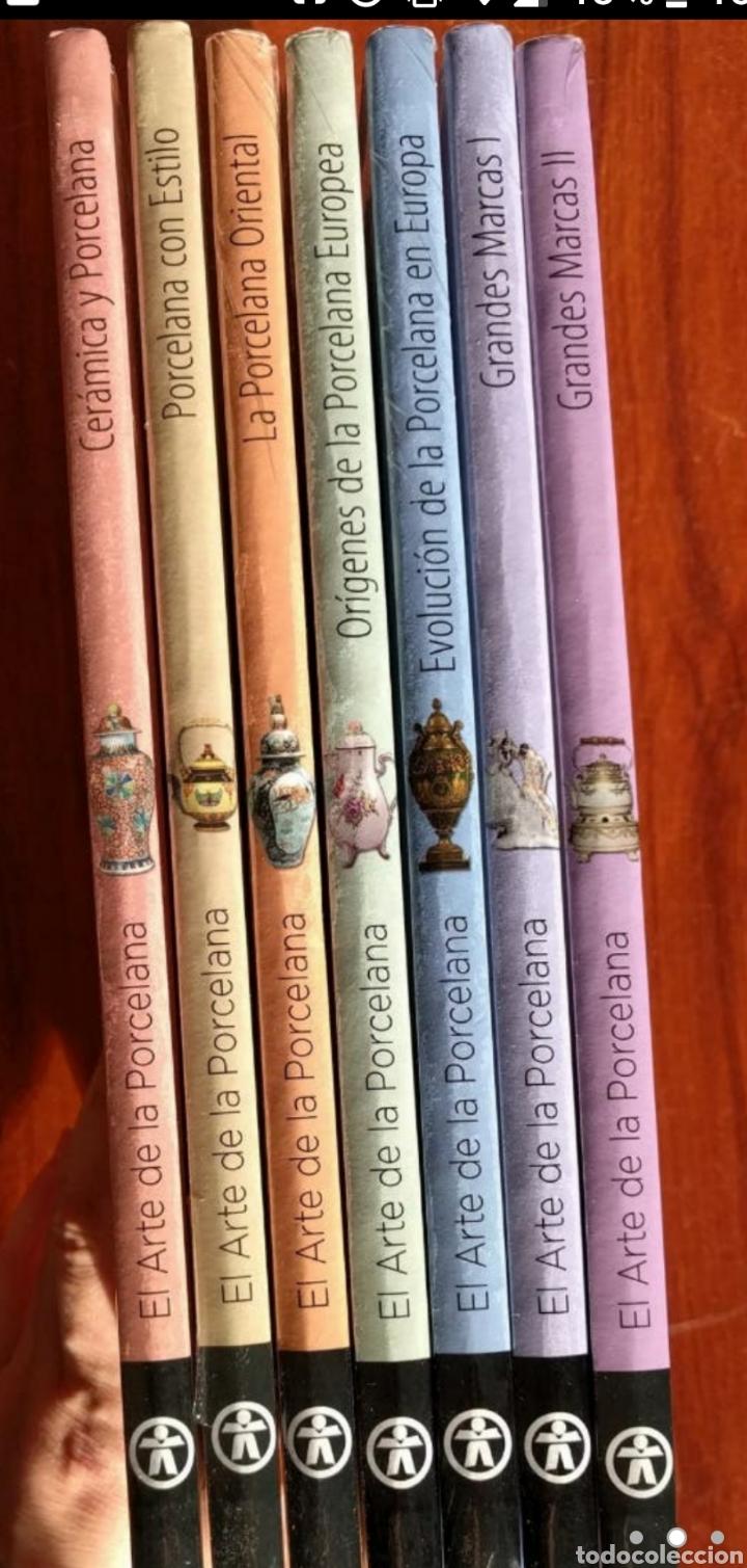 COLECCION ARTE DE LA PORCELANA (Libros de Segunda Mano - Bellas artes, ocio y coleccionismo - Otros)