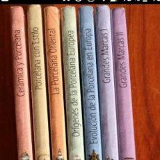Libros de segunda mano: COLECCION ARTE DE LA PORCELANA. Lote 224634030