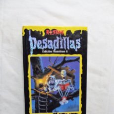 Libros de segunda mano: PESADILLAS EDICION MONSTRUO 6 R.L. STINE. Lote 224641903