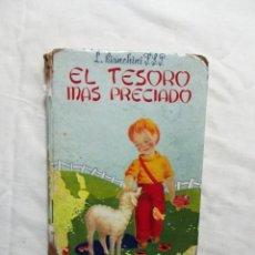 Libros de segunda mano: EL TESORO MAS PRECIADO DE L. BIANCHINI. Lote 224645312