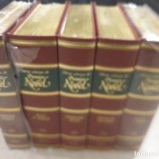 Libros de segunda mano: LITERATURA....OBRAS SELECTAS DE PREMIOS NOBEL...5 TOMOS..PLANETA..... Lote 224719382