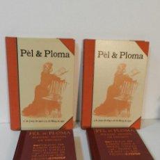 Libros de segunda mano: QUATRE GATS I PÈL & PLOMA 4 VOL EDICIÓN FACSÍMIL EN CATALÀ ED AUSA 1987 RAMÓN CASAS MIQUEL UTRILLO. Lote 224910897