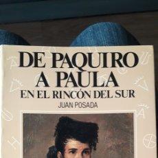 Libros de segunda mano: DE PAQUIRO A PAULA. TOMO 5. ESPASA CALPE. Lote 224953088