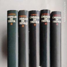 Libros de segunda mano: CABALLO DE TROYA. J.J. BENITEZ. 5 TOMOS VOLUMENES. 1, 2, 3, 4 Y 5. CIRCULO DE LECTORES. TDK575. Lote 224981057