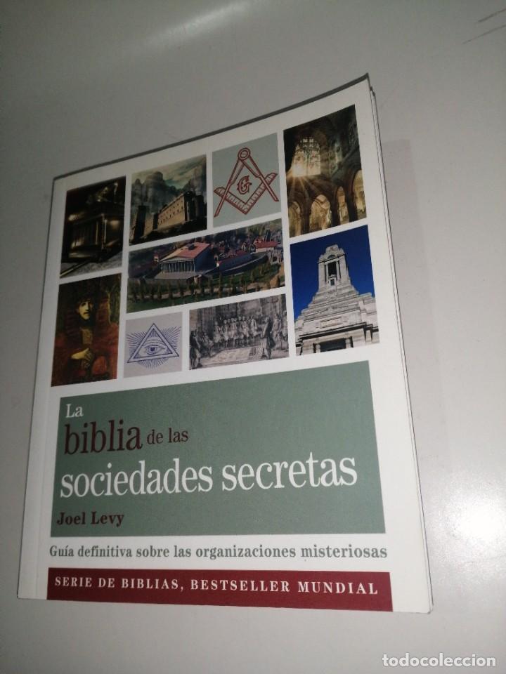 BIBLIA DE LAS SOCIEDADES SECRETAS - LA - LEVY, JOEL (Libros de Segunda Mano - Parapsicología y Esoterismo - Otros)