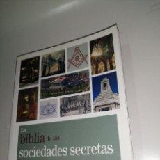 Libros de segunda mano: BIBLIA DE LAS SOCIEDADES SECRETAS - LA - LEVY, JOEL. Lote 225074081