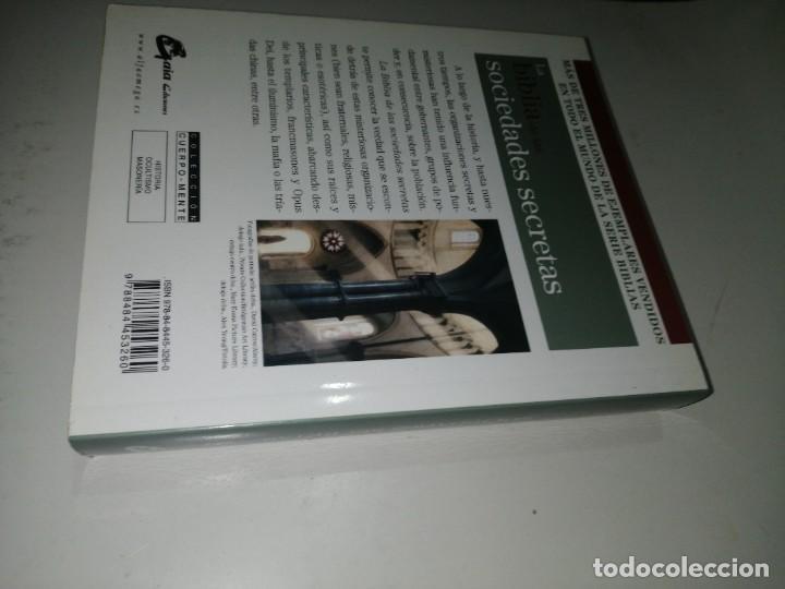 Libros de segunda mano: BIBLIA DE LAS SOCIEDADES SECRETAS - LA - LEVY, JOEL - Foto 2 - 225074081