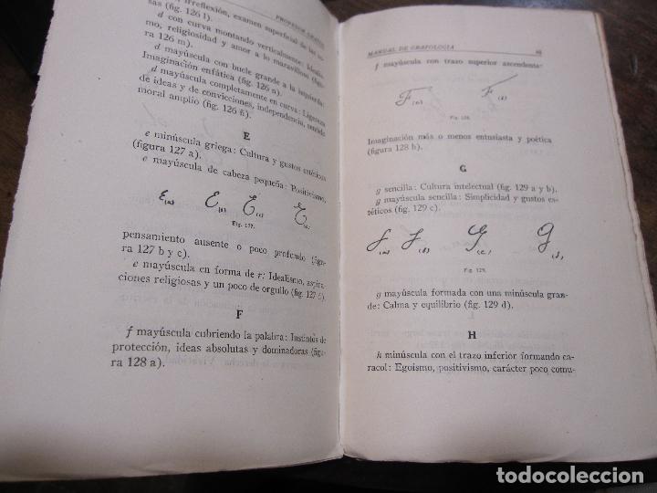 Libros de segunda mano: DOCTOR GRAFOS MANUAL DE GRAFOLOGIA. Ediciones Rialto, Madrid, 1943. 141 PAGINAS. 22,5X14 CM - Foto 4 - 225085880