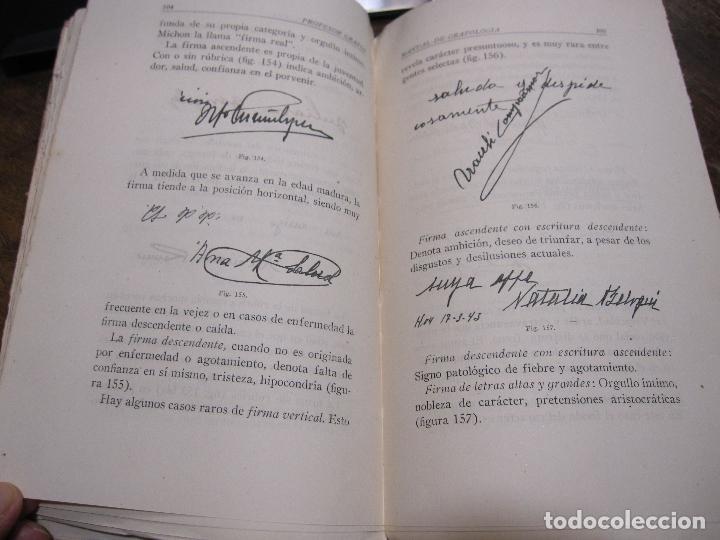 Libros de segunda mano: DOCTOR GRAFOS MANUAL DE GRAFOLOGIA. Ediciones Rialto, Madrid, 1943. 141 PAGINAS. 22,5X14 CM - Foto 5 - 225085880