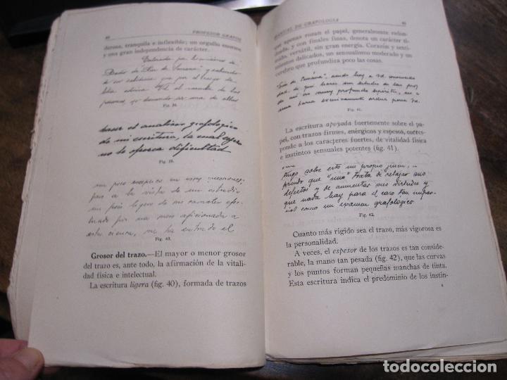 Libros de segunda mano: DOCTOR GRAFOS MANUAL DE GRAFOLOGIA. Ediciones Rialto, Madrid, 1943. 141 PAGINAS. 22,5X14 CM - Foto 6 - 225085880