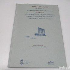 Libros de segunda mano: INSTRUCCUIÓN SUCINTA PROVISIONAL, QUE DEBERAN OBSERVAR LAS EMBARCACIONES DESTINADAS AL ...Q3839A. Lote 225116785