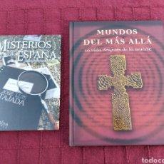 Libros de segunda mano: LIBRO MISTERIOS DE ESPAÑA - MUNDOS DEL MÁS ALLÁ-INSOLITO - OVNIS- RELATOS- PARANORMAL- DIFUNTOS-. Lote 225139985