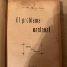Libros de segunda mano: EL PROBLEMA NACIONAL, 1899 (CAJ, 2). Lote 225172715