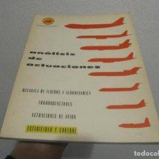 Libros de segunda mano: ANÁLISIS DE ACTUACIONES.ESTABILIDAD Y CONTROL1ª EDICIÓN.1973. Lote 225212255