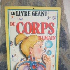 Libros de segunda mano: LE LIVRE GEANT DU CORPS,EL LIBRO GIGANTE DEL CUERPO HUMANO / 1989 / GRÜND / NEIL ARDLEY Y DAVID WEST. Lote 225376672