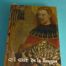 Libros de segunda mano: EL CRIT DE LA LLENGUA. DENOMINACIÓ DE LA LLENGUA VALENCIANA. JOSEP ALMINYANA VALLÉS. Lote 225399797
