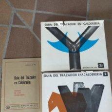 Libros de segunda mano: GUÍA DEL TRAZADOR EN CALDERERÍA. Lote 225512608