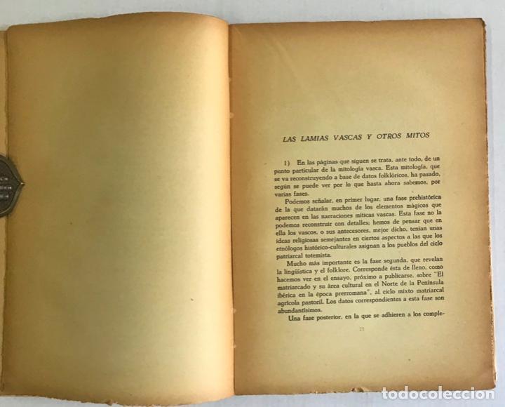 Libros de segunda mano: ALGUNOS MITOS ESPAÑOLES. - CARO BAROJA, Julio. - Foto 3 - 123171736