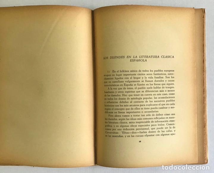 Libros de segunda mano: ALGUNOS MITOS ESPAÑOLES. - CARO BAROJA, Julio. - Foto 4 - 123171736