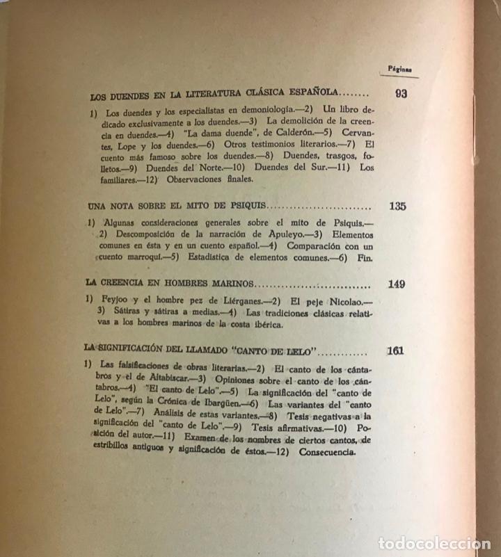 Libros de segunda mano: ALGUNOS MITOS ESPAÑOLES. - CARO BAROJA, Julio. - Foto 6 - 123171736