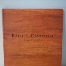 Libri di seconda mano: RAFOLS - CASAMADA. OBRAS 1986-1995. CATÁLOGO EXPOSICIÓN PALACIO CONDES GABIA, 1996. Lote 225783240