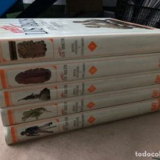 Libros de segunda mano: NOSOTROS LOS VASCOS. MITOS, LEYENDAS Y COSTUMBRES. 5 TOMOS (COMPLETO). LUR ARGITALETXEA (1990).. Lote 225805801