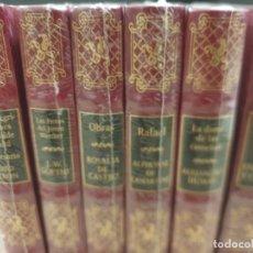 Libros de segunda mano: LITERATURA...6 TOMOS..JOYAS DE LA LITERATURA ROMÁNTICA..... Lote 225812401