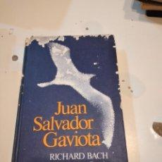 Libros de segunda mano: G-58 LIBRO JUAN SALVADOR GAVIOTA RICHARD BACH FOTOGRAFIAS DE RUSSELL MUNSON. Lote 225867132