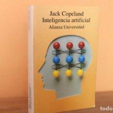 Libros de segunda mano: INTELIGENCIA ARTIFICIAL / JACK COPELAND. Lote 225950757
