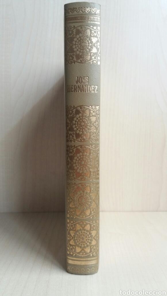 Libros de segunda mano: Martín Fierro. José Hernández. NAUTA, biblioteca de los grandes clásicos, 1969. - Foto 3 - 225986803