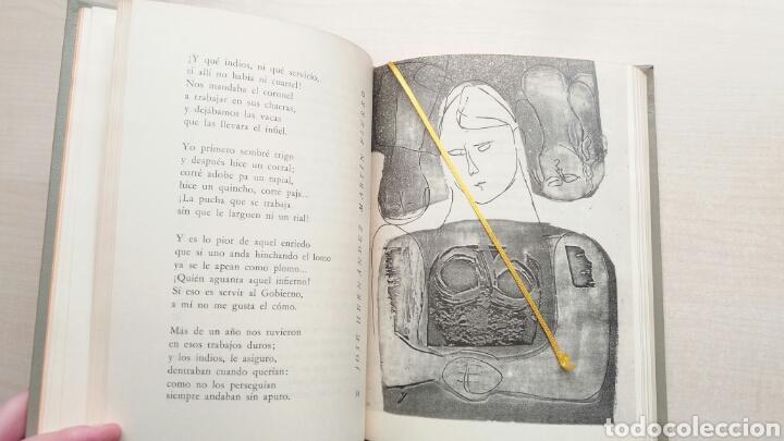 Libros de segunda mano: Martín Fierro. José Hernández. NAUTA, biblioteca de los grandes clásicos, 1969. - Foto 10 - 225986803