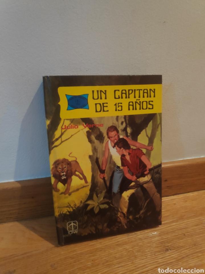 UN CAPITÁN DE 15 AÑOS JULIO VERNE (Libros de Segunda Mano - Literatura Infantil y Juvenil - Otros)