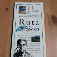 Libros de segunda mano: RUTA DELS ESCRIPTORS (GABRIEL JANER MANILA) EL DIA DEL MUNDO. Lote 226160195
