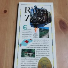 Libros de segunda mano: RUTA DEL TREN (PERE BRUNET) EL DIA DEL MUNDO. Lote 226160403