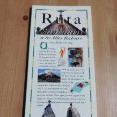 Libros de segunda mano: RUTA DELS SANTUARIS A LES ILLES BALEARS (PERE MOREY I SERVERA) EL DIA DEL MUNDO. Lote 226161986