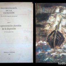 Libros de segunda mano: PSICOPATOLOGÍA DE LA EXPRESIÓN. SERIE 8. LA REPRESENTACIÓN PICTÓRICA DE LA DEPRESIÓN. SANDOZ 1965. Lote 226251085