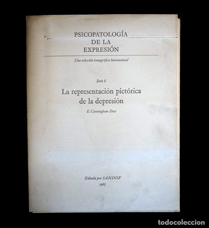 Libros de segunda mano: Psicopatología de la expresión. Serie 8. La representación pictórica de la depresión. Sandoz 1965 - Foto 2 - 226251085