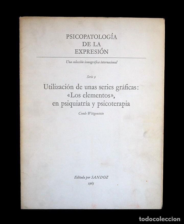 Libros de segunda mano: Psicopatología de la expresión. Serie 9. Utilización de unas series gráficas.... Sandoz 1965 - Foto 2 - 226252020