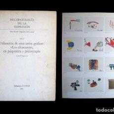 Libros de segunda mano: PSICOPATOLOGÍA DE LA EXPRESIÓN. SERIE 9. UTILIZACIÓN DE UNAS SERIES GRÁFICAS.... SANDOZ 1965. Lote 226252245