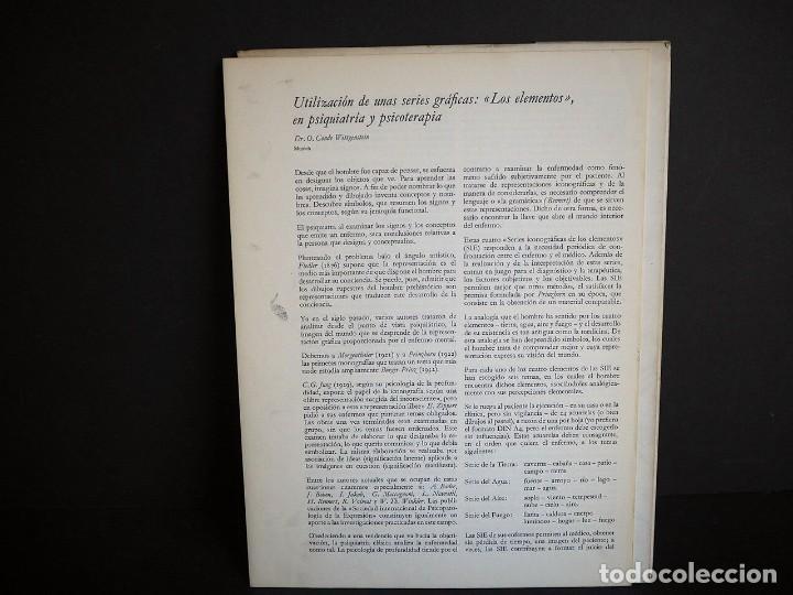 Libros de segunda mano: Psicopatología de la expresión. Serie 9. Utilización de unas series gráficas.... Sandoz 1965 - Foto 7 - 226252245