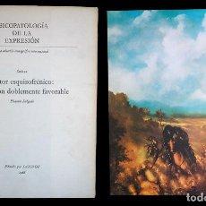 Libros de segunda mano: PSICOPATOLOGÍA DE LA EXPRESIÓN. SERIE 10. PINTOR ESQUIZOFRÉNICO: EVOLUCIÓN .... SANDOZ 1966. Lote 226252965