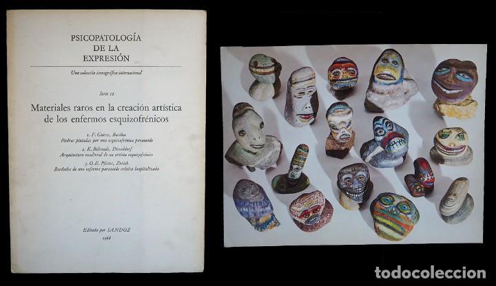 PSICOPATOLOGÍA DE LA EXPRESIÓN. SERIE 12. METERIALES RAROS EN LA CREACIÓN ARTÍSTICA .... SANDOZ 1968 (Libros de Segunda Mano - Bellas artes, ocio y coleccionismo - Otros)
