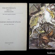 Libros de segunda mano: PSICOPATOLOGÍA DE LA EXPRESIÓN. VOLUMEN 11. EXPRESIONES ESTÉTICAS DE LA LOCURA. SANDOZ 1966. Lote 226254705