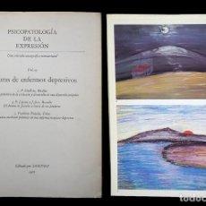 Libros de segunda mano: PSICOPATOLOGÍA DE LA EXPRESIÓN. VOLUMEN 13. PINTURAS DE ENFERMOS DEPRESIVOS. SANDOZ 1970. Lote 226255430