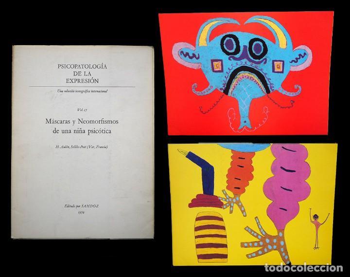 PSICOPATOLOGÍA DE LA EXPRESIÓN. VOLUMEN 17. MÁSCARAS Y NEOMORFISMOS DE UNA NIÑA.... SANDOZ 1972 (Libros de Segunda Mano - Bellas artes, ocio y coleccionismo - Otros)