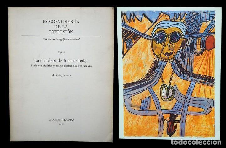 PSICOPATOLOGÍA DE LA EXPRESIÓN. VOLUMEN 18. LA CONDESA DE LOS ARRABALES. SANDOZ 1972 (Libros de Segunda Mano - Bellas artes, ocio y coleccionismo - Otros)
